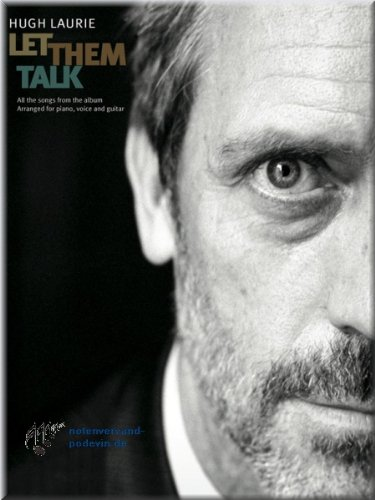 Hugh Laurie - Let Them Talk Carnet de notes de musique Songbook