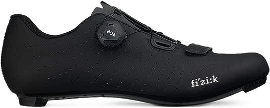 Fizik Men's Tempo Overcurve R5 Road Cycling Shoes - Black/Black (Black/Black - 44.5)