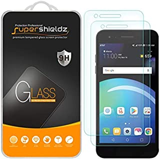 (2 Pack) Supershieldz for LG Phoenix 4 Tempered Glass Screen Protector, Anti Scratch, Bubble Free