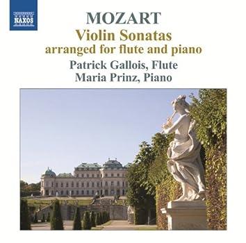Mozart: Violin Sonatas arranged for flute & piano