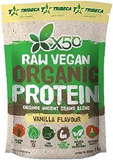 X50 Raw Vegan Organic Protein Vanilla Flavour - 1 Kg Pack