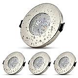 Foco empotrable LED para cuarto de baño, plafón de baño, iluminación de...