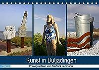 Kunst in Butjadingen 2022 (Tischkalender 2022 DIN A5 quer): Skulpturale Kunstwerke in Butjadingen an der Nordseekueste. (Monatskalender, 14 Seiten )