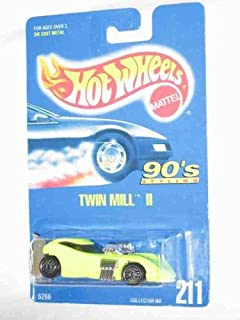 Hot Wheels #211 Twin Mill 2 Ultra Chrome Base Collectible Collector Car Matel