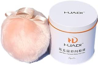 Cosmetic Powder Puff Sponge Body Air Powder Puff Shimmer Powder Glitter Soft Fluffy Dusting Cosmetic Powder Puff For Adult Baby 1 PC 1 PC