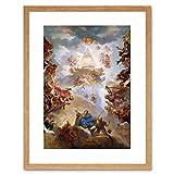 Painting Allegory Bertin Prophets Kings Adoring Jehovah Framed Wall Art Print ペインティングアレゴリーキング壁