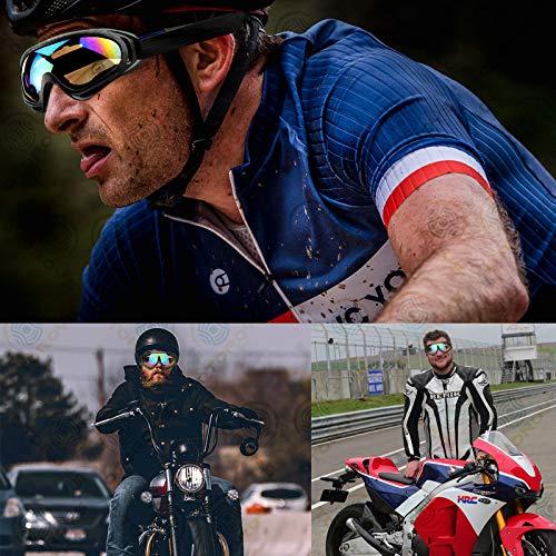 OtoRoys Motorcycle Goggles Eyewear Helmet Goggles Anti-UV Outdoor Sport Cool ATV Dirt Bike Goggles