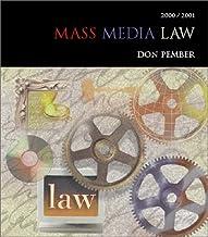 Mass Media Law 2001-2002