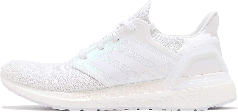 adidas Men's Ultraboost 20 Sneaker (Cloud White/Cloud White/Core Black