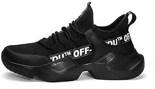 tienda de venta Zapatillas De Deporte para Hombre, Zapatillas De De De Correr, Zapatillas Deportivas De Malla Transpirables para Caminar Gimnasio,negro,44  forma única