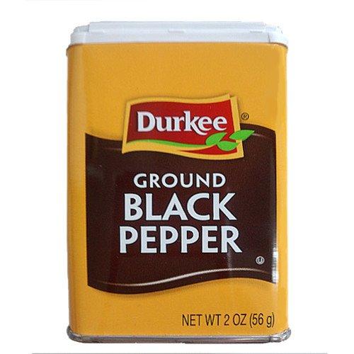 (Durkee)ブラックペッパー(黒こしょう) 2OZ(56g) (1)