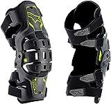 Alpinestars Unisex-Adult Bionic 5S Youth Knee Brace Black Anth/Fluo Yellow (Multi, one_size) - 6540520-1155-OS