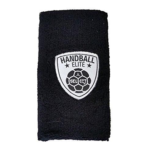 Select Schweißband (Paar) lang (14cm) Handball Elite - schwarz
