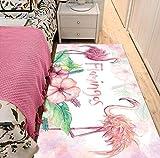 Teppich Nordic Fashion Cartoon Bunte Flamingo Print Kinderzimmer Nacht Baby Krabbeldecke 120cmx170cm
