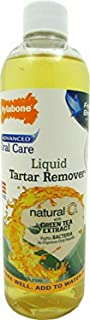 Nylabone Natural Liquid Tartar Remover, Advanced Oral Care, 16 Ounce, 4 Pack