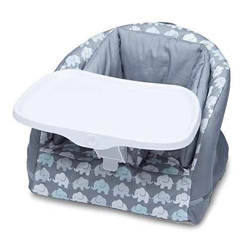 Boppy Baby Chair, Elephant Walk, Gray