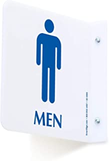 projecting restroom signs