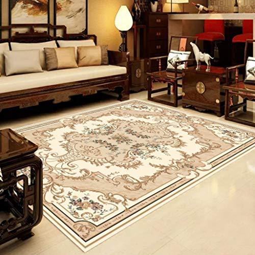 Tapijt en onderlegger van polyestervezel, wasbaar, nordic klassiek tapijt, antislipmat voor bank, groot tapijt, dekbed, antislip (beschikbaar in het Nederlands). 140*200CM C