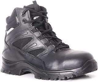Nuevo Para hombres Tejido Mosca Ultra Ligero Gorra Puntera De Acero Zapatos de Trabajo Entrenador De Seguridad