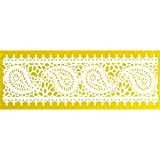 Global Sugar Art Paisley Lace Silicone Lace Mat by Chef Alan Tetreault