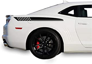 Bubbles Designs 2X Sticker Decal kit Stripes Compatible with Chevrolet Camaro