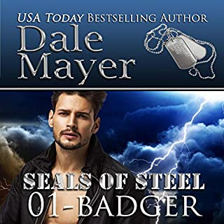 Badger audiobook cover art