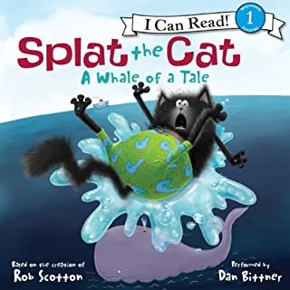 Couverture de Splat the Cat: A Whale of a Tale
