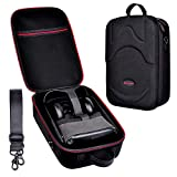 TAIKUU Hard Shell Travel Case Compatible with Oculus Quest All-in-one VR Gaming Headset Controllers Accessories Protection Box Anti-pressure Carrying Case (Black)