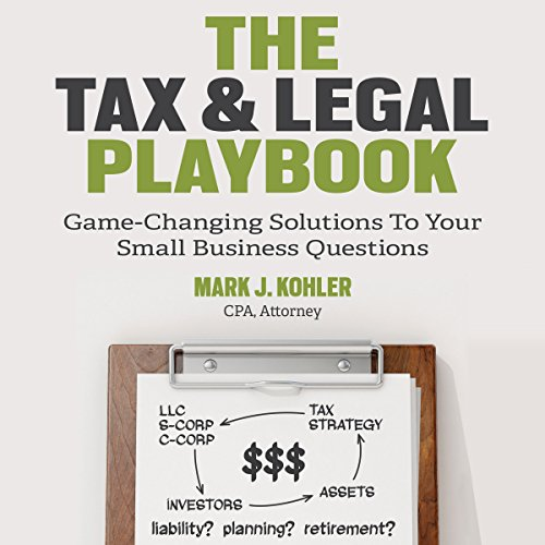 The Tax and Legal Playbook audiobook cover art