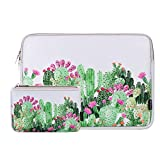 Laptop Sleeve 15 Inch Neoprene Laptop Sleeve Bag MacBook Pro 15 Inch A1707 A1990 Sleeve 15 Inch Protective Neoprene Sleeve Case Electronics Accessories Organzier Bag Case Pouch (Cactus Light Blue)