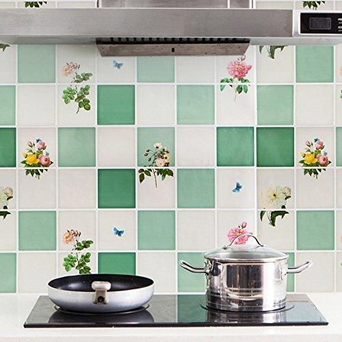 1 calcomanía de pared extraíble para decoración del hogar para el día de San Patricio, color verde