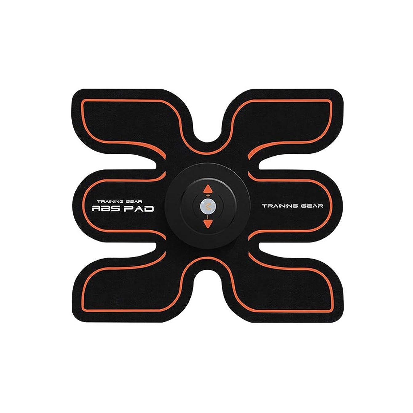 のどいくつかの鋭くABSトレーナーEMS腹部電気マッスルスティミュレーターマッスルトナー調色ベルトフィットネストレーニングギアABSエクササイズマシンウエストトレーナーホームワークアウト (Size : A)