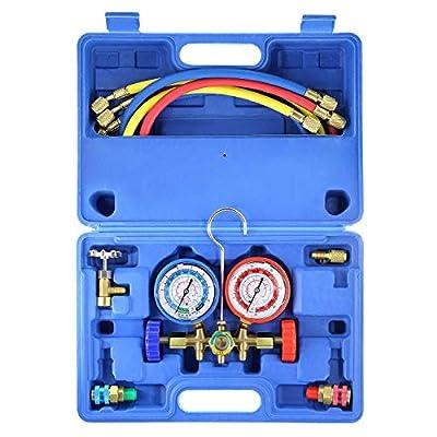 AURELIO TECH Manifold Gauge Refrigeration Charging System