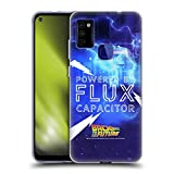 Head Case Designs Officially Licensed Back to The Future Flux Capacitor I Quotes Soft Gel Case Compatible with Samsung Galaxy M51 (2020)
