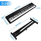 Immagine 1 vangoa tastiera di pianoforte 88