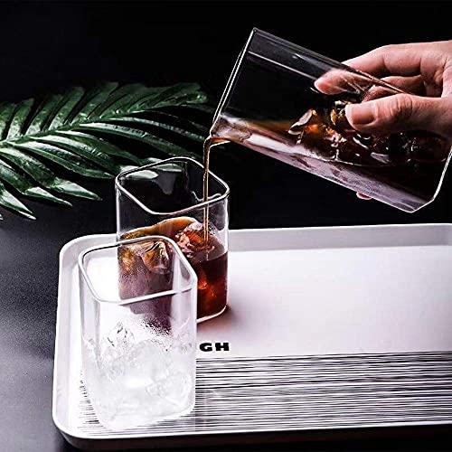 3 vasos de cóctel, copas de cristal de alta calidad, copas de cóctel transparente específicas para bebida, gafas de estilo antiguo, ideales para el hogar, restaurante, eventos y fiestas