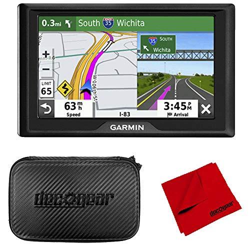 "Garmin Drive 52 5"" GPS Navigator and 7"" EVA Case Bundle (2019 Model)"