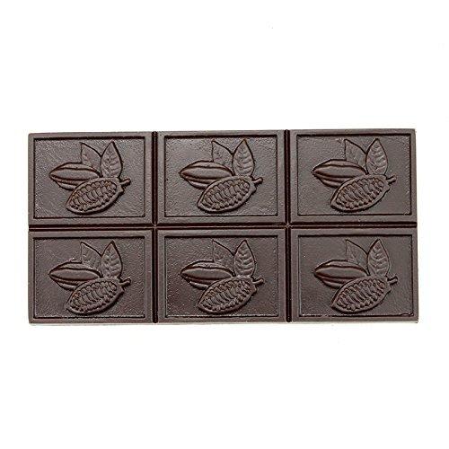 Polycarbonate Bar Mold for Chocolate (Cacao Pod Design)