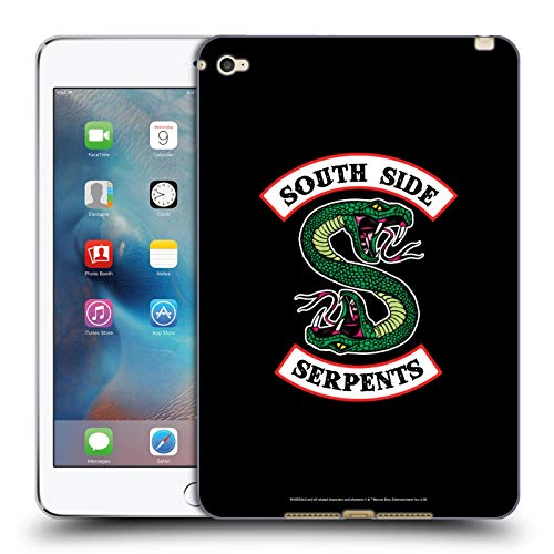 Official Riverdale South Side Serpents Graphic Art Soft Gel Case Compatible for iPad mini 4