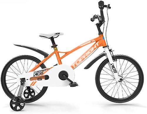 barato Bicicletas Montaña Velocidad Variable Niños De Color Sólido Sólido Sólido De 12 14 16 Pulgadas (Color   naranja, Talla   12inch)  costo real