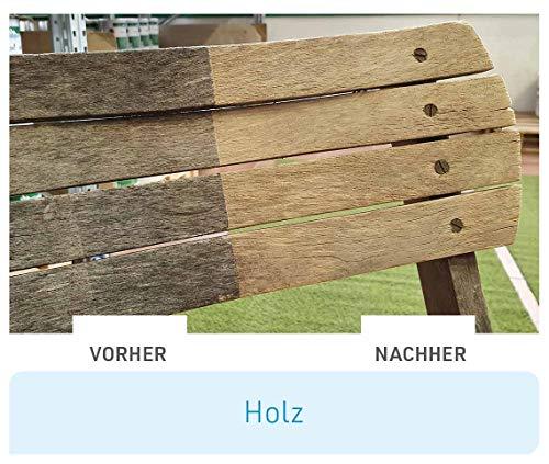 Mediashop Freshmo Set   2 Stück mit Bürste   Öko-Auffrischer für Holz, Stein, Kunststoff   Pflege   Das Original aus dem TV - 4