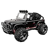 AKDSteel SUBO-TECH Brave 1/22 2.4G 4WD RC Desert Buggy RC Car SUV NO.BG1511 45km/h Black for Car Toys