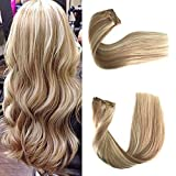 Best Sexybaby Human Hair Extensions - Real Remy Clip in Human Hair Extensions 120g Review