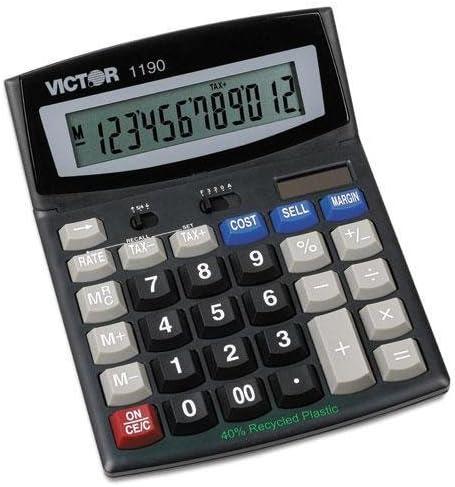 VICTOR 1190 Executive Desktop Calculator LCD Max 75% OFF Max 64% OFF 12-Digit