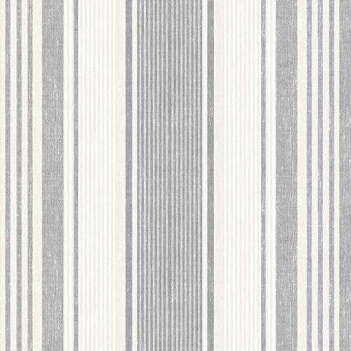 BorasTapeter 6862 Linen Stripe - Papel pintado, diseño de rayas