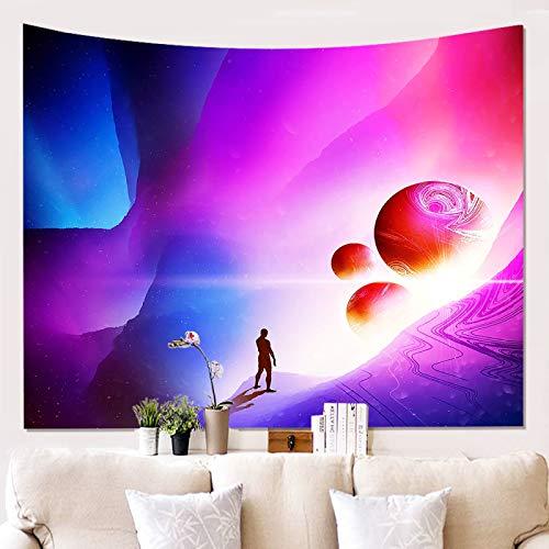 Starry Sky Comic Tapiz De Decoración De Pared Manta De Decoración del Hogar Adecuado para Tapices En Dormitorios, Hoteles, Dormitorios Y Salas De Estar