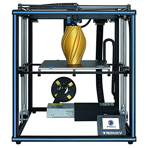 TRONXY X5SA Pro Impresora 3D de Resina, Impresora 3D Profesional Base Silenciosa, Tamaño 330 x 330 x 400 mm, Impresora de Alta Precisión con Pantalla Táctil, Detector de Filamento y Reanudación, DIY