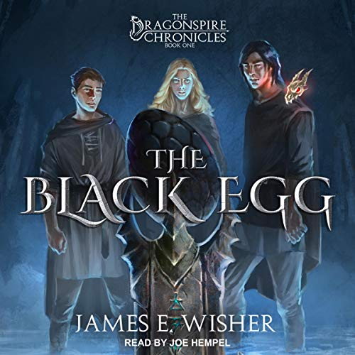 The Black Egg audiobook cover art