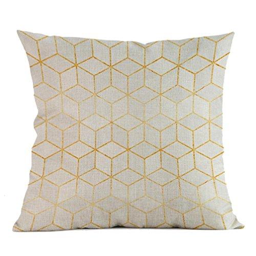 Mamum - Bohême Géométrique Throw Pillow Case Housse de Coussin Décoration de Maison 45cm * 45cm (C)