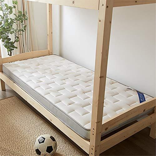 """GFYL Japanischen futon Tatami,Gestrickte dreidimensionale atmungsaktive Matratze verdicken,Sehr dick Traditionelle japanische Matratze Student wohnheim mat,Weiß,35.5\""""X79\"""""""